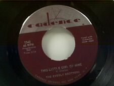 "EVERLY BROTHERS ""THIS LITTLE GIRL OF MINE / SHOULD WE TELL HIM"" 45"