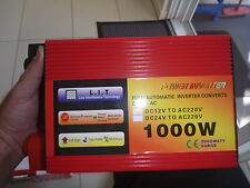 Inverter New Smart Technology 2000w peak 12 Volt to 220-240