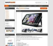 Ebay Auktionsvorlage Vorlage Design Shop Vorlage Template HTML Ebayshop #0107