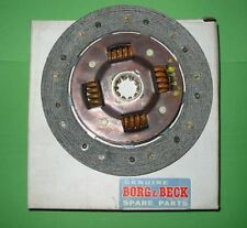 MG TC, Y, TD BORG &  BECK CLUTCH DRIVEN PLATE