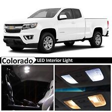 15x White LED Light Interior Package Kit for 2015-2017 Chevy Colorado