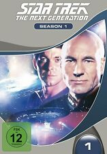 STAR TREK - THE NEXT GENERATION SEASON 1 MB  7 DVD NEU  SIR PATRICK STEWART/+