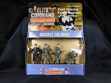 FIELD MARSHAL ERWIN ROMMEL Diecast Soldiers - ELITE COMMAND Collectors Series
