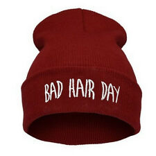 Warm Winter Fashion Bad Hair Day Cap Hip-hop Knit Beanie Hats Women's Men's Hat
