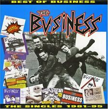 THE BUSINESS - BEST OF..THE SINGLES COLLECTION, CD oi! punk hardcore