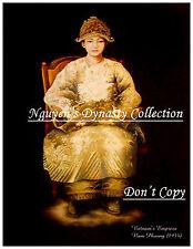 Vietnam - Indochine Postcard. Vietnam's Last Empress Nam Phuong. REPRODUCTION
