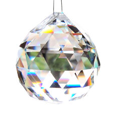 HOT 20mm Crystal Beads Chandeliers Pendant Hanging Wedding Party Decor Homestia