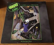 """Lord of the Dragon"" Glow in the Dark Jigsaw Puzzle by Ceaco - 2000 edition- NIB"