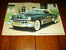 1949 CADILLAC SERIES 62 CONVERTIBLE COUPE  ***ORIGINAL 1985 ARTICLE***