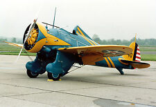 """BOEING P-26A  """"PEASHOOTER""""  67 INCH WING   RC AIrplane Rolled Plans"""