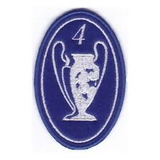 [Patch] CHAMPIONS LEAGUE numero 4 replica cm 5 x 7,5 toppa ricamata ricamo -203