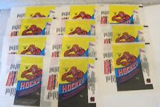 (LOT OF11) 1975-1976 O-PEE-CHEE OPC PACK NHL HOCKEY WRAPPERS