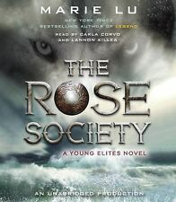 Young Elites: The Rose Society by Marie Lu NEW UNABRIDGED AUDIO CDS
