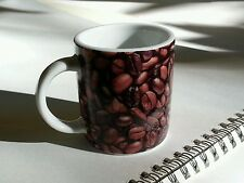 Starbucks Coffee Mug Espresso Cup Demitasse Coffee Bean Design 2.9 fl oz 2007