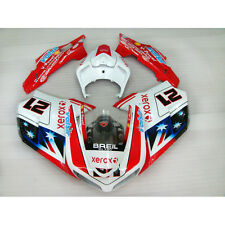 ABS Carena Carenature Per 2007-2011 Ducati 1098 848 1198 2008 2009 2010 (B)