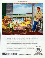 1947 Clothing ad- fabics ad --Burlington Mills Summer clothing ad -[-819