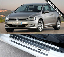 VW Golf Mk7 (Released 2013) 2 Door Sill Protectors / Kick plates