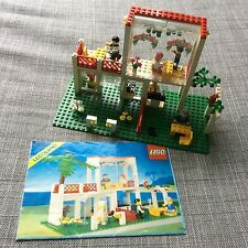 LEGO 6376 Town Legend Breezeway Cafe 10037 Vintage Set  All Figures!