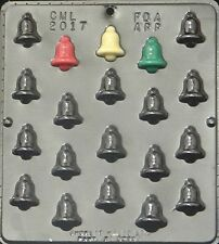 Christmas Bell Bite Size Chocolate Candy Mold Christmas  2017 NEW