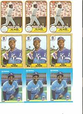 18 CARD HAL McRAE BASEBALL CARD LOT       46
