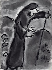 "Awesome Marc CHAGALL Limited 1960 Bible Series Print ""Prophecies of Amos"" COA"