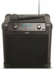 ION Audio Tailgater (iPA77) | Portable Bluetooth PA Speaker With Mic, AM/FM And