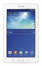 "NEW! SAMSUNG GALAXY TAB 3 LITE SM-T110 8GB Wi-Fi 7"" WHITE GPS TABLET"