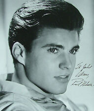Rick Nelson Signed 8x10 Glossy Photo Portrait