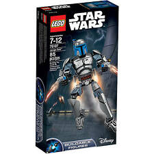 LEGO Star Wars Jango Fett 75107 Age 7-12 85 Pieces New Sealed RETIRED
