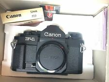 New Canon F-1 35MM Film Camera Body Unused NIB NOS Mint+++++