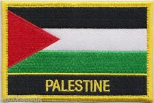 Palestine Flag Embroidered Patch Badge - Sew or Iron on