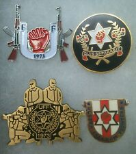 LOYALIST / U.F.F. / ULSTER FREEDOM FIGHTERS / 4X PIN BADGE SET / EXCELLENT VALUE