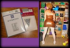 2 Pr Shiny Vintage Pantyhose Sheer to Waist & Control Top, Givenchy, Size C