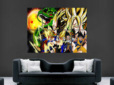 DRAGON BALL Z POSTER  MANGA JAPANESE GOKU VEGATA WALL LARGE IMAGE GIANT