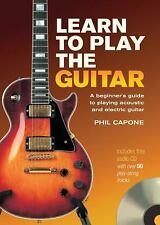 Learn To Play The Guitar (Music Bibles), Phil Capone, Good Book
