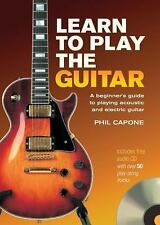 Learn to Play the Guitar, Phil Capone, Good Book