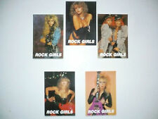 Lot   5  Cartes Postales   VIXEN   LISA  DOMINIQUE   LITA  FORD   GIPSY  QUEEN