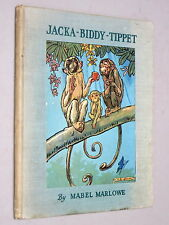 Jacka-Biddy-Tippet & Bumble the Sweeper-Gnome - MABEL MARLOWE (c1941 Illustrated