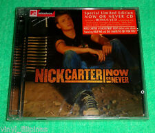 PHILIPPINES:NICK CARTER - Now Or Never CD + VCD,LIMITED,SEALED,BACKSTREET BOYS