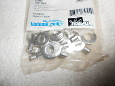 """25 PIECE TERMINAL RING LUG CONNECTOR  #8 AWG WIRE GAUGE 7/16"""" STUD BOLT HOLE"""