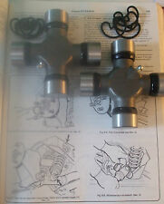 (x2) JAGUAR S E Type XJ6 XJ12 XJS DS20     Halfshaft Universal Joints Joint UJ
