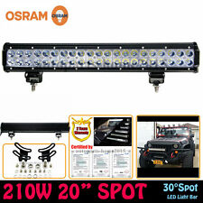 OSRAM 20INCH 210W LED LIGHT BAR SPOT OFFROAD LAMP 4WD JEEP DRIVING CAR TRUCK