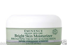 EMINENCE BRIGHT SKIN SPF 30 MOISTURIZER 2 oz / 60 ml  NEW ~FREE SHIP~