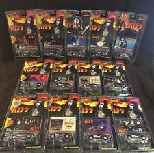 JOHNNY LIGHTNING DIE CAST KISS SET/LOT 13 Gene Simmons Paul Stanley Peter Criss