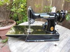 SINGER FEATHERWEIGHT W/CASE 1950 SERIAL #AJ575684