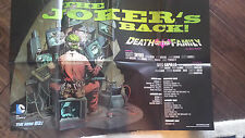 2013 SDCC WONDERCON DC BATMAN THE JOKERS BACK DEATH OF THE FAMILY NEW 52 POSTER