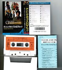 DANCING POPS HOT HITS VA JAPAN CASSETTE TAPE w/Special Case+P/S+Insert TOTO