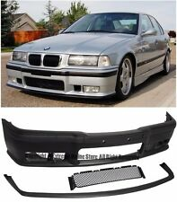 M3 Style Front Conversion Bumper Cover W/ Lip For 92-98 BMW E36 3-Series 2/4 Dr