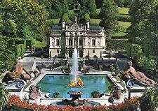 Alte Postkarte - Schloss Linderhof
