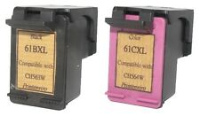 remanufactured Ink Cart for HP 61XL CH563WA Black CH564WA Color for Deskjet 1000